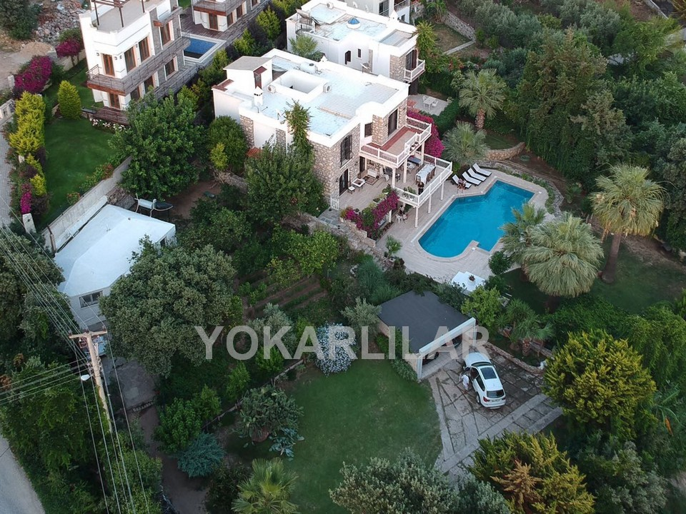LUXURY STONE VILLA WITHIN VIEW FOR SALE IN YALIKAVAK TOWN CENTRE