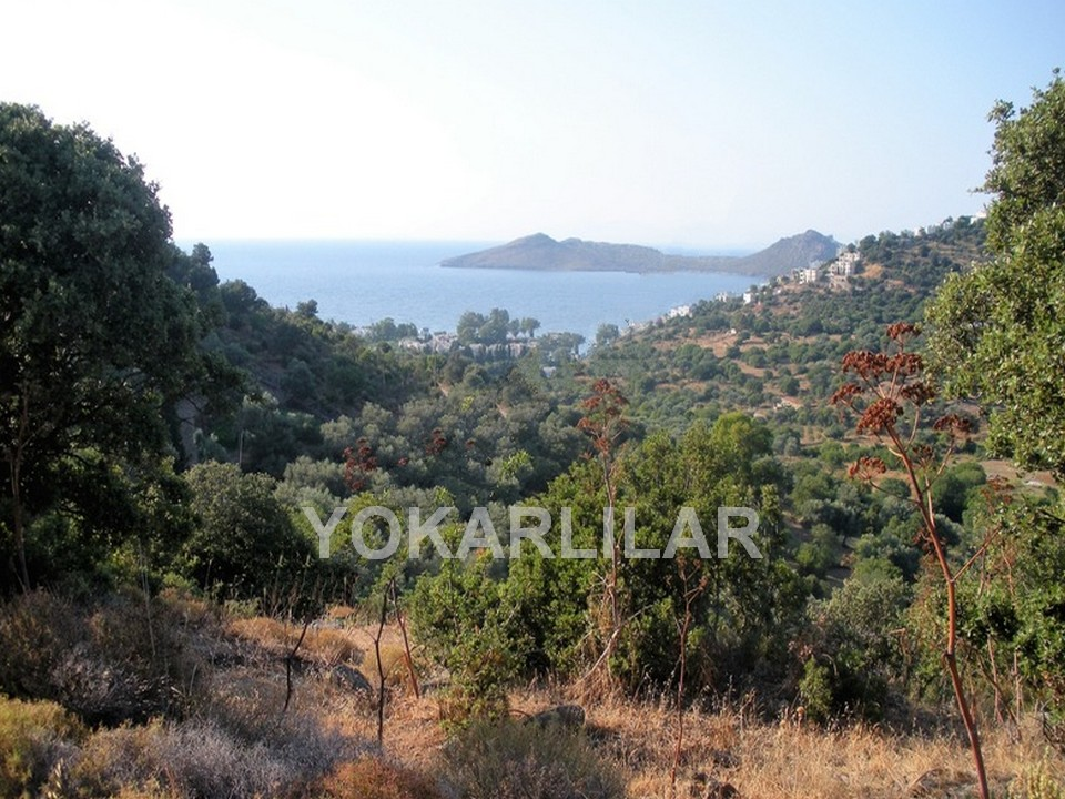LAND WITH SEAVIEWS FOR SALE IN YALIKAVAK