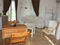 FOR RENT THE GARDEN FLOOR APARTMENT WITHIN THE SEA VIEW IN GUMUSLUK