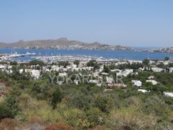 LAND WITH CLEAR SEAVIEWS AND VIEWS OF THE MARINA FOR SALE IN YALIKAVAK.